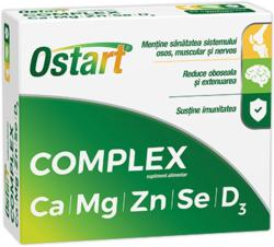 Fiterman Pharma Ostart Complex Ca+Mg+Zn+Se+D3, Fiterman Pharma, 20cpr
