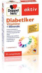 Doppelherz Doppelhertz Aktiv Diabetiker Vitamine+Minerale, Queisser Pharma, 30cpr+10cpr