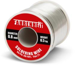 Fahrenheit Fludor 0.8mm 500gr FAHRENHEIT Sn/Pb 60/40% flux 2% (55084)