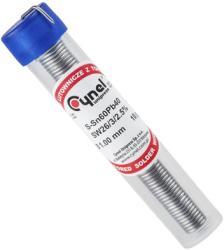 Cynel Fludor 1mm tub 10gr LC60 L-Sn60% Pb40% flux 2.5% Cynel (LUT0017)