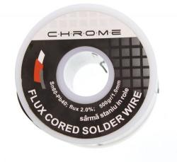 CHROME Fludor 500gr 1mm Sn60 Pb40 flux2 Chrome (TIN-500GR/1.0MM-CHR)