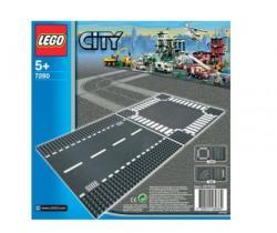 LEGO Сити Права улица и кръстовище 7280