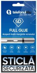 telefonultău Folie sticla telefonultau 5D Full Cover, Samsung Galaxy A50, Full Glue, Black