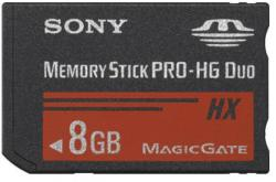 Sony Memory Stick Pro-HG Duo 8GB MSHX8B