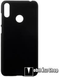 Műanyag védő tok / hátlap - Hybrid Protector - FEKETE - HUAWEI Y7 (2019) / HUAWEI Y7 Prime (2019)