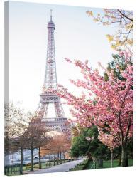 Stof Franta Tablou Paris Primavara la Tour Eiffel (PAR151)