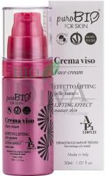 PuroBio Cosmetics Cremă cu efect lifting pentru ten matur cu acid hialuronic PuroBio Cosmetics 30-ml