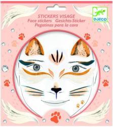 DJECO Stickere pentru fata - Pisica (09214)
