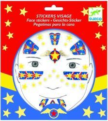 DJECO Stickere pentru fata - Super erou (09219)