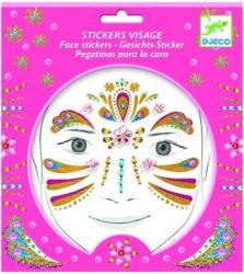DJECO Stickere pentru fata - Printesa (09211)