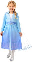 Rubies Jégvarázs: Elza utazós ruhája 128cm-es méret (300468L)