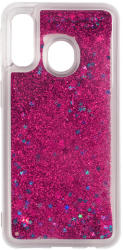 TFO Liquid Glitter Samsung Galaxy A40 - telefontok TFO Liquid Glitter - rózsaszín