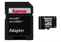 Hama microSDHC 4GB Class 6 108016