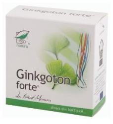 ProNatura Ginkgoton Forte - 30 comprimate