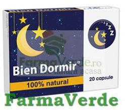 Fiterman Pharma Bien Dormir (20 comprimate)