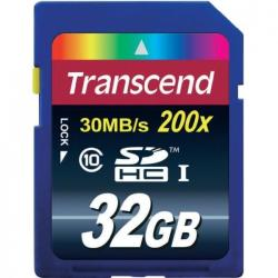 Transcend SDHC 32GB Class 10 TS32GSDHC10