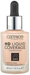 Catrice Fond de ten HD Liquid Coverage Foundation Catrice HD Liquid Coverage 010 Light Beige