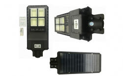As Seen On TV Proiector LED 90w cu panou solar senzor miscare lumina telecomanda 432 leduri - praktikonline