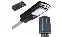 As Seen On TV Proiector stradal 30W cu panou solar, senzor de miscare si telecomanda - praktikonline