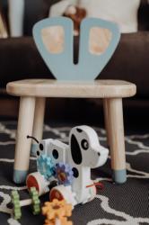 Bubuland Grey Mouse - Scaun pentru copii Iepuras BBL-292