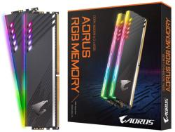 GIGABYTE AORUS 16GB (2x8GB) DDR4 3600MHz GPAR36C18S8K2HU416R
