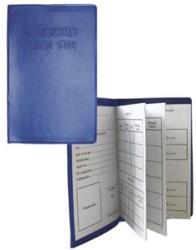 Sport nyomtatvány, SNY08 Tagnyilvántartó tagsági kék könyv