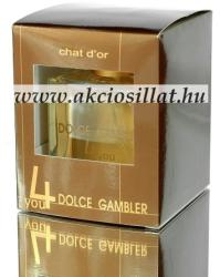 Chat D'Or Dolce Gambler 4you EDT 100ml