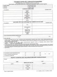 NY A. REND 4 Üzembentartói jog átruházásáról szóló szerződés