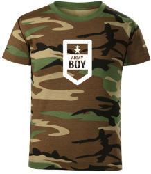 O&T Tricou de copii scurt Army boy, camuflaj