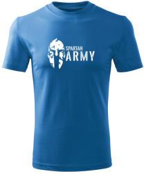 O&T Tricou de copii scurt Spartan army, albastru