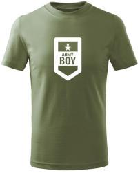 WARAGOD Tricou de copii scurt Army boy, măsliniu