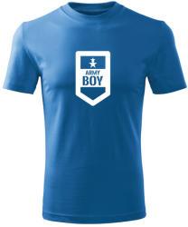 O&T Tricou de copii scurt Army boy, albastru