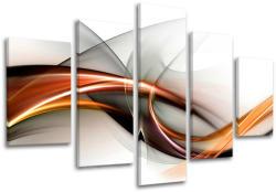 Tablouri canvas 5-piese ABSTRACT AB070E50 (tablouri moderne pe) (XOBAB070E50)