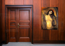 Tablouri MADONNA - Edvard Munch (tablouri moderne) (XOBREP102)