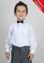 Rumena Kids Бяла детска официална риза за момче rumena