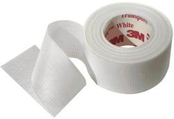 3M Banda medicala adeziva transparenta Transpore 3M 5cm x9.1m 1 rola