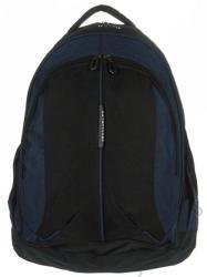 AdventureR 3 rekeszes fekete-kék textil hátizsák Adventurer (W5529B fekete-kék)