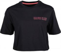 Calvin Klein CROPPED SHORT SLEEVE T-SHIRT dama negru M