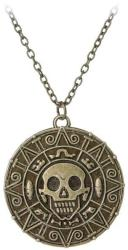 Piratii din Caraibe Lantisor cu Pandantiv Piratii Din Caraibe - Jack Sparrow - Aztec - Bronze (med100)