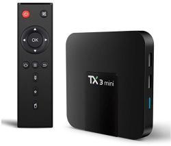 Mini PC TV Box TX3 Android 7.1 1GB RAM 8 GB ROM Procesor Quad Core Wi-Fi HDMI Ethernet