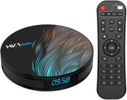 TV Box HK1 Max RK3318 2.4GHz Android 9.0 KODI 18.0, 4GB RAM si 32GB ROM, UltraHD 4K, Mini PC cu BT 4.0, WiFi