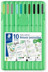 STAEDTLER Set 10 instrumente de scris STAEDTLER Triplus Botanic Journaling