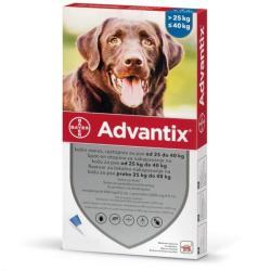 Bayer Advantix 400 Caini (25-40 kg) x 1 pipeta