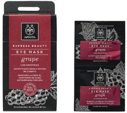 APIVITA Mască pentru ochi cu STRUGURI pentru reducerea ridurilor fine 2 x2 ml