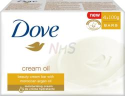 Dove Cream Oil krémszappan 4x100g