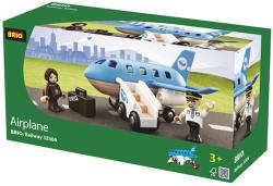 BRIO Repülőgép beszállóval (33306)