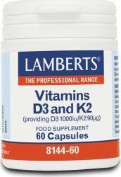 Lamberts Vitamina D3 1000 IU & K2 90g - pharmacygreek