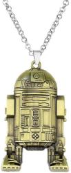 Star Wars Lantisor Cu Pandantiv Star Wars Robot R2-D2 Bronze (zum408)