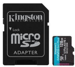 Kingston microSDXC Canvas Go Plus 128GB C10/UHS-I/U3/A2 SDCG3/128GB