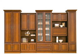 MobAmbient Bibliotecă de sufragerie, clasică - model WIKI C